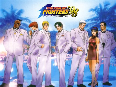 Kof 98 King of fighters 98 Wallpapers | Download free PC