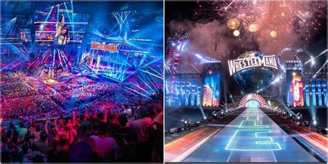 The 10 Best Looking WrestleMania Stages Ever, Ranked