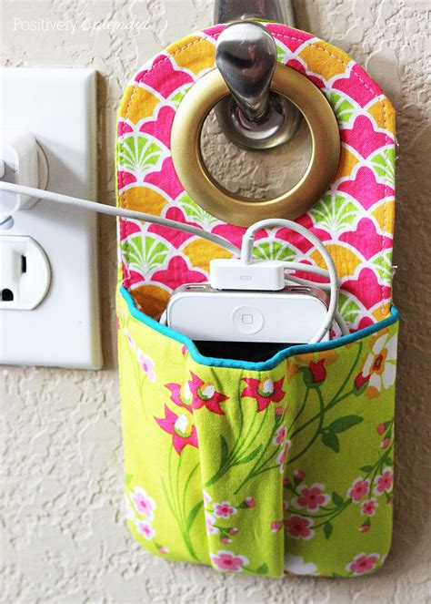 Charging Cell Phone Holder - SEWTORIAL