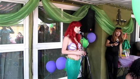 The Little Mermaid sings In Harmony Featuring Traci Hines