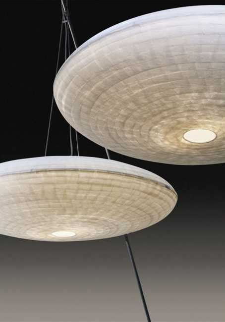 Unique Lighting Fixtures with Handmade Paper Lamp Shades