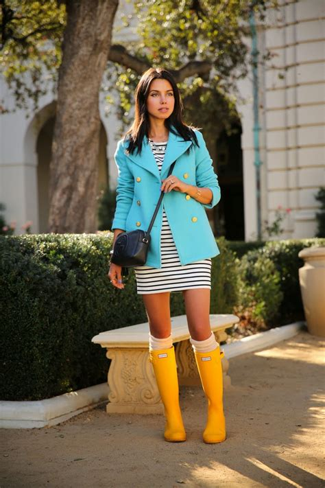 20 Ways to Style Rainy Boots This Fall