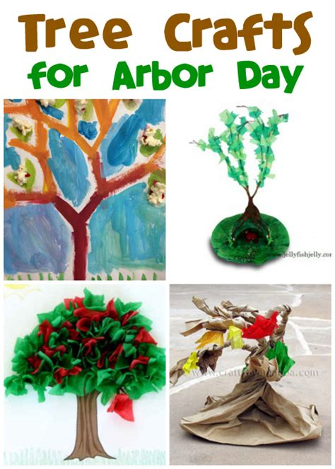 Kids' Tree Crafts for Arbor Day   Fun Family Crafts