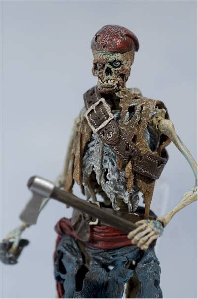 Pirates of the Caribbean Cursed Pirate action figure